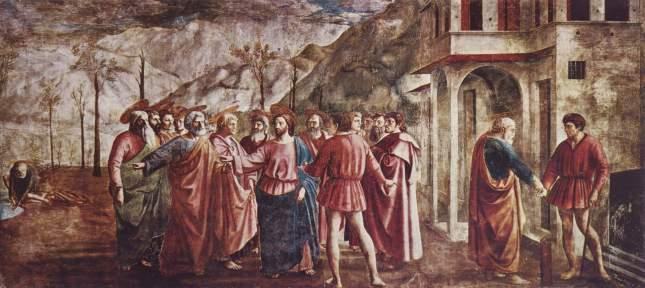 El pago del tributo - Masaccio